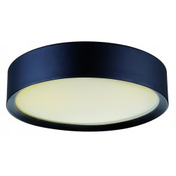 Viokef Πλαφονιέρα Μαύρη D370 Alessio 4155300
