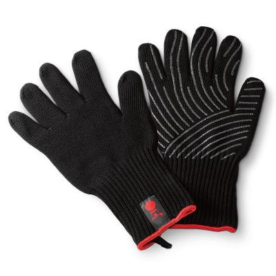 Μαύρα γάντια ψησίματος Weber με σιλικόνη L/XL - 6670